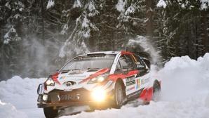 Зимна приказка очаква участниците на рали Швеция