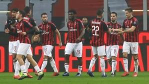 Милан се разправи с Каляри в дебюта на Кирил Десподов