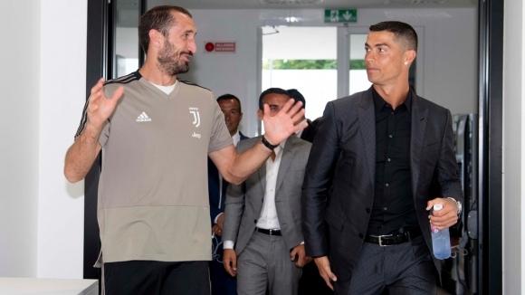 Киелини сравни Роналдо с Болт и Федерер
