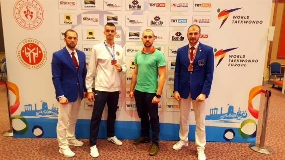 Владимир Далаклиев с бронз от престижния турнир  President's Cup в Анталия