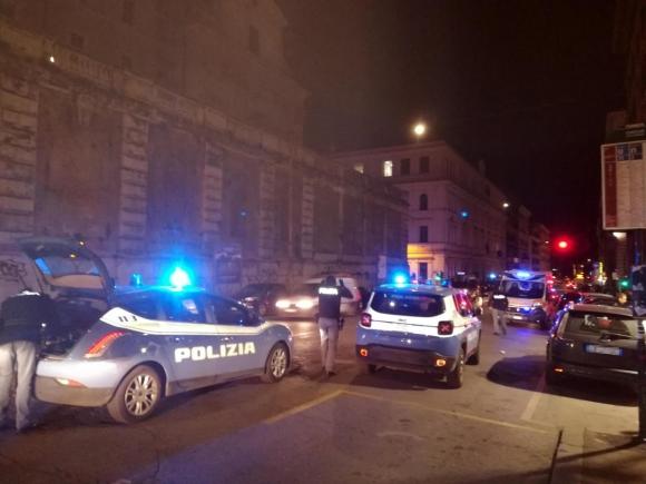 Инциденти в Рим преди Лацио - Севиля