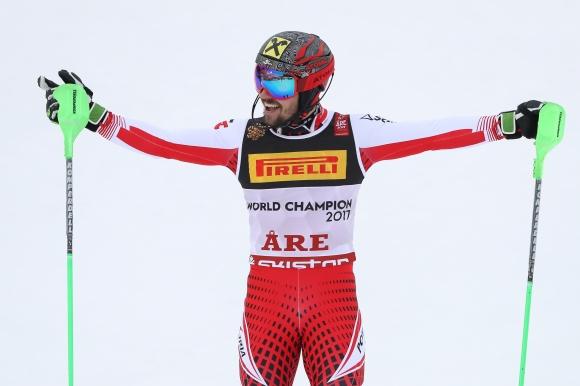 Марсел Хиршер стана световен шампион в слалома, изравни рекорд на Стенмарк