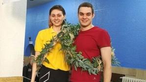 """Лаврови венци за Георгиева и Шумков от """"Битката на гладиаторите"""""""