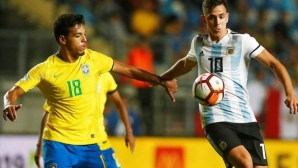 Младежкият отбор на Бразилия пропуска трето Световно от последните четири, Еквадор е шампион на Южна Америка
