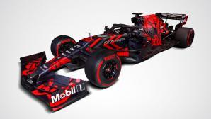 Ред Бул показа първия си Ф1 болид, задвижван от Хонда