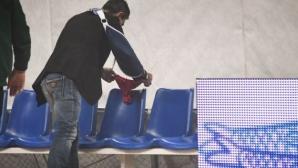 Олимпиакос не доигра мача с Панатинайкос заради съдийството