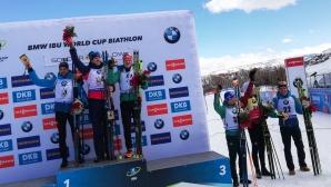 Норвежец с първа победа за Световната купа, Синапов с най-предно класиране от българите