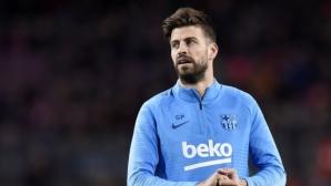 Пике навъртя 300 мача в Ла Лига за Барса