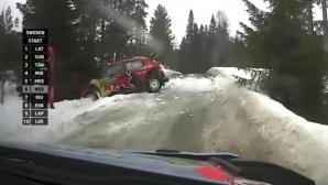 Вижте как се стигна до оттеглянето на Ожие от рали Швеция (видео)