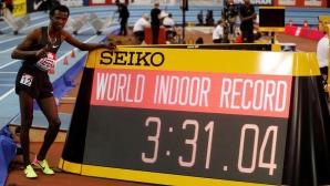 Самюел Тефера счупи световния рекорд на 1500 метра в зала