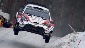 От Танак триумфира на рали Швеция и поведе във WRC (видео)
