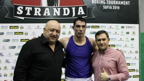 """Петър Белберов загуби финала при най-тежките на """"Странджа"""""""