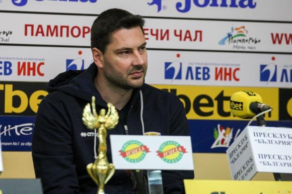 Атанас Петров: Надявам се да спечелим редовния сезон (видео)