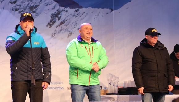 Министър Кралев откри Световната купа в Банско