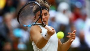 Шампионката от 2016 година Сара Ерани отпадна в първия кръг в Дубай