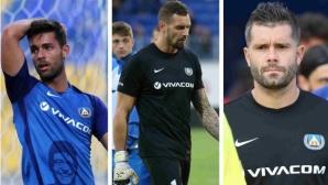 Левски се раздели с Митрев, Нашименто и Полачек също напускат клуба