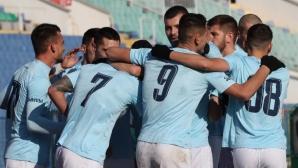 Дунав спечели важни три точки в борбата си за оцеляване