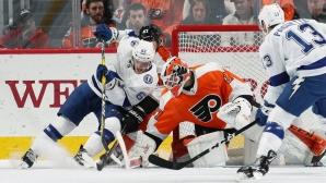 Тампа Бей вече има аванс от 17 точки в НХЛ, Александър Георгиев не игра за Рейнджърс