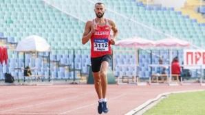Митко Ценов направи най-бързото българско бягане в зала на 1500 метра от 1981 година
