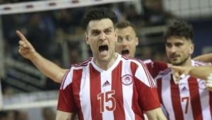 Стархотен Тодор Алексиев класира Олимпиакос на полуфинал за Купата на Гърция