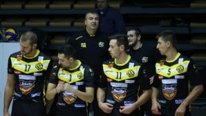 Петьо Драгиев и трима волейболисти напуснаха Миньор (Перник)