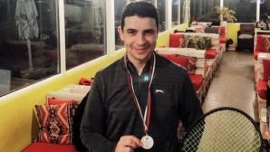 Стефан Стефанов взе първа титла в ИТЛ без загубен сет