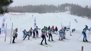 Ски-бегачите на Сапарева баня доминираха на олимпийския зимен фестивал в Осогово