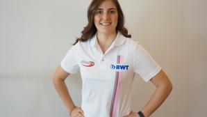 Татяна Калдерон става първата жена пилот във Формула 2