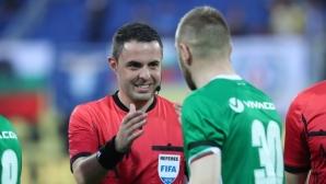 Никола Попов със странни обяснения за гафовете срещу Лудогорец, трябва ли такъв човек да ръководи мачове? (видео)