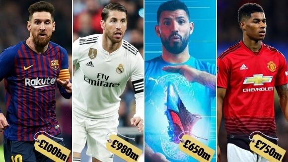 Ето защо фирмите за спортно облекло наливат толкова много пари в английските отбори