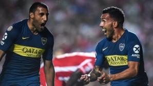 Тевес отново носи победата на Бока Хуниорс