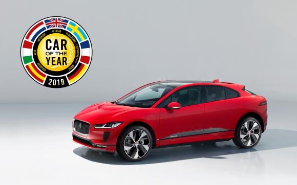 Електрическият Jaguar I-PACE бе избран за европейски автомобил на годината
