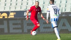 Гълъбинов не помогна на Специя срещу Пескара (видео)