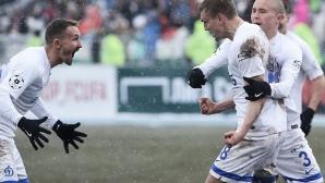 Две асистенции на Жоаозиньо за важна победа на Динамо (видео)