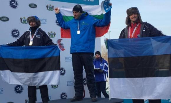 Петър Стойчев тръгва да защитава Световната си титла по ледено плуване