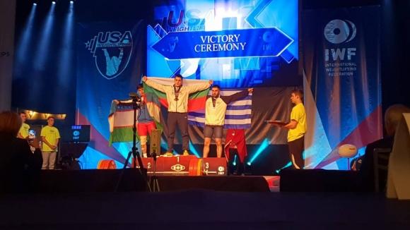 Злато за България на световното за млади щангисти в Лас Вегас