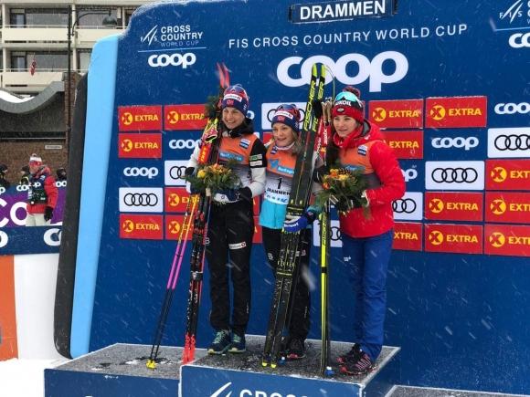 Майкен Касперсен Фала спечели за пети път спринта в Драмен