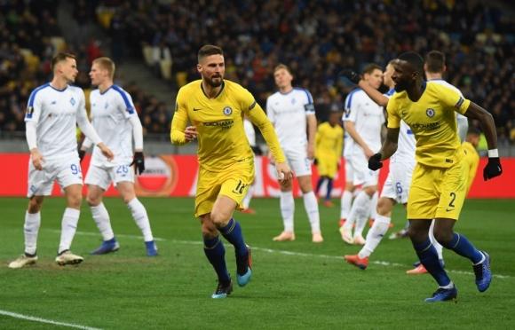 Челси се подигра с Динамо в Киев (видео)