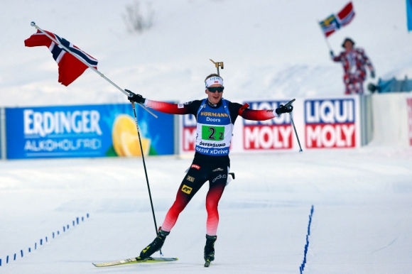 Норвегия спечели титлата в мъжката щафета на СП по биатлон, България зае 9-о мястото