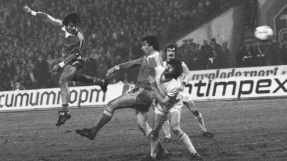 37 години от една от най-славните победи в българския футбол (видео)