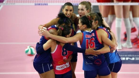 Елица Василева с 15 точки за победа на Скандичи (видео)