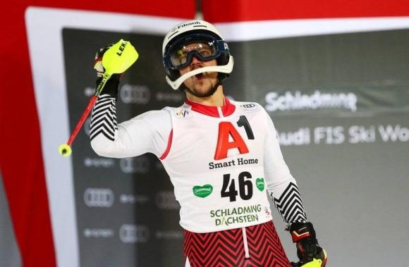 Алберт Попов 21-и в първи манш на слалома на финалите на СК