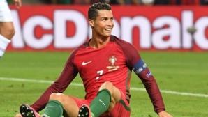 Роналдо отново облича екипа на Португалия