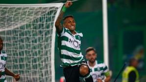 Спортинг излезе 3-и в Португалия (видео)