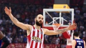 Олимпиакос без Спанулис за два мача