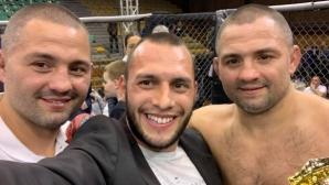 Нокаут в актива на Росен Димитров на TWINS MMA 15 (видео)