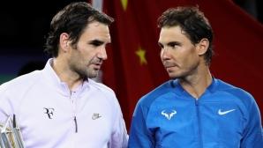 Федерер тъгува за Надал: Всяка битка вече може да е последната