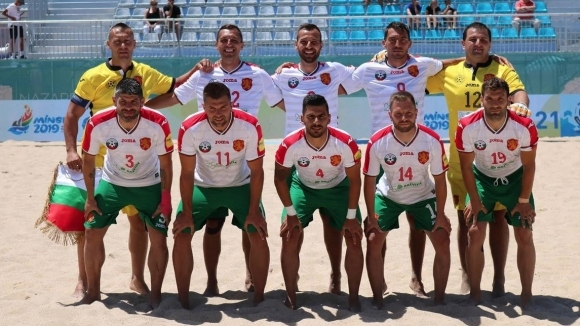 България срещу Норвегия, Дания и Грузия в ЕВРОлигата по плажен футбол