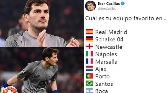 Касийяс разкри любимите си отбори