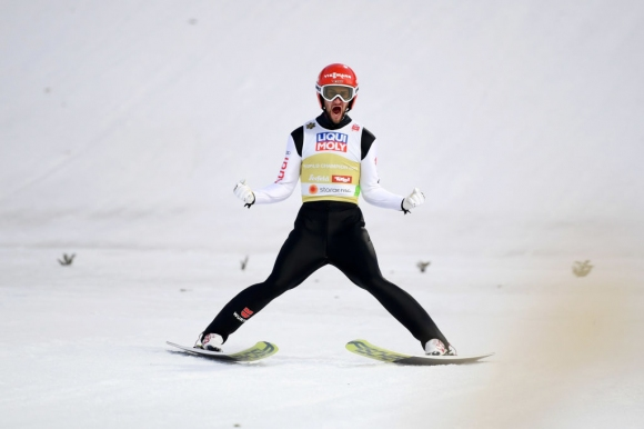 Маркус Айзенбихлер постигна първата си победа за Световната купа по ски...